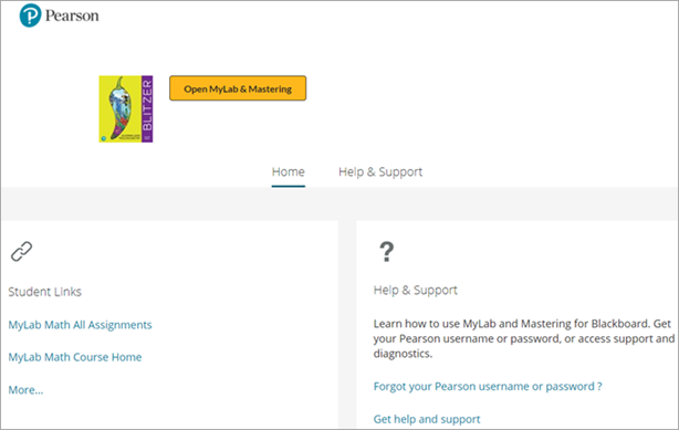 Get started with MyLab and Mastering for your LMS